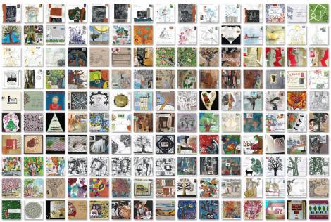 Mosaïque 150 enveloppes 2013