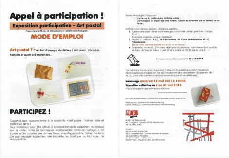 Exposition participative MJC Villeurbanne - Roland BOUGAIN