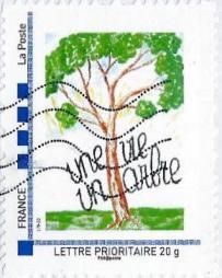 Timbre Une vie un arbre