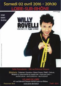 Willy ROVELLI à Loire-sur-Rhône