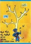 """16-063 - Oeuvre de """"Les cartons de JKM ... ... ... 24x34 - 20 €"""